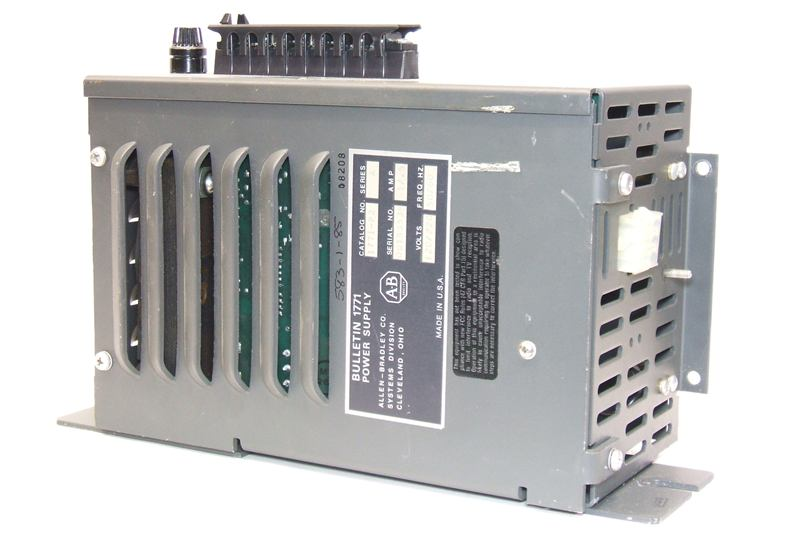 ALLEN BRADLEY POWER SUPPLY 1771-P2