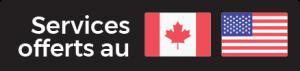Réparation électronique Canada États-Unis