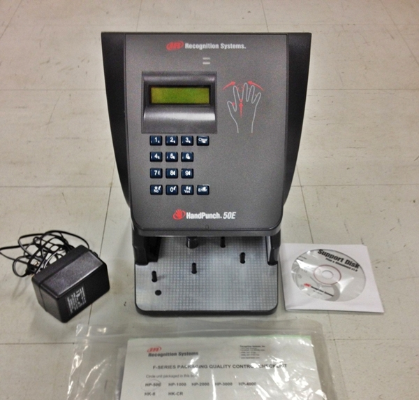 RECOGNITION SYSTEMS HAND PUNCH SYSTEM HP-50